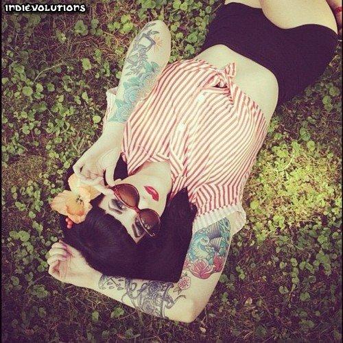 Fotos de Pin-Ups tatuadas (16)