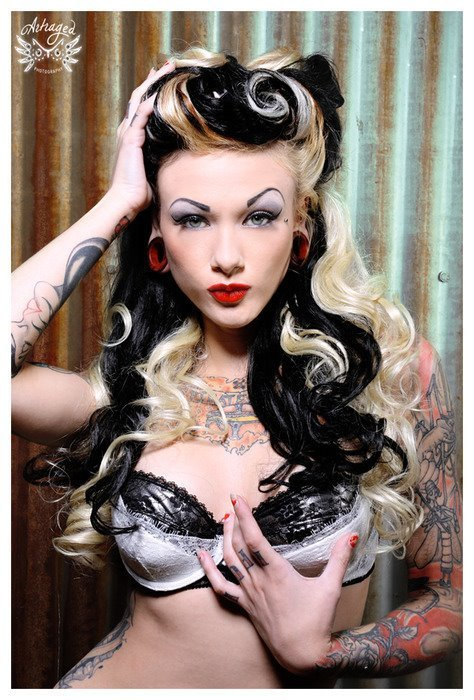 Fotos de Pin-Ups tatuadas (2)