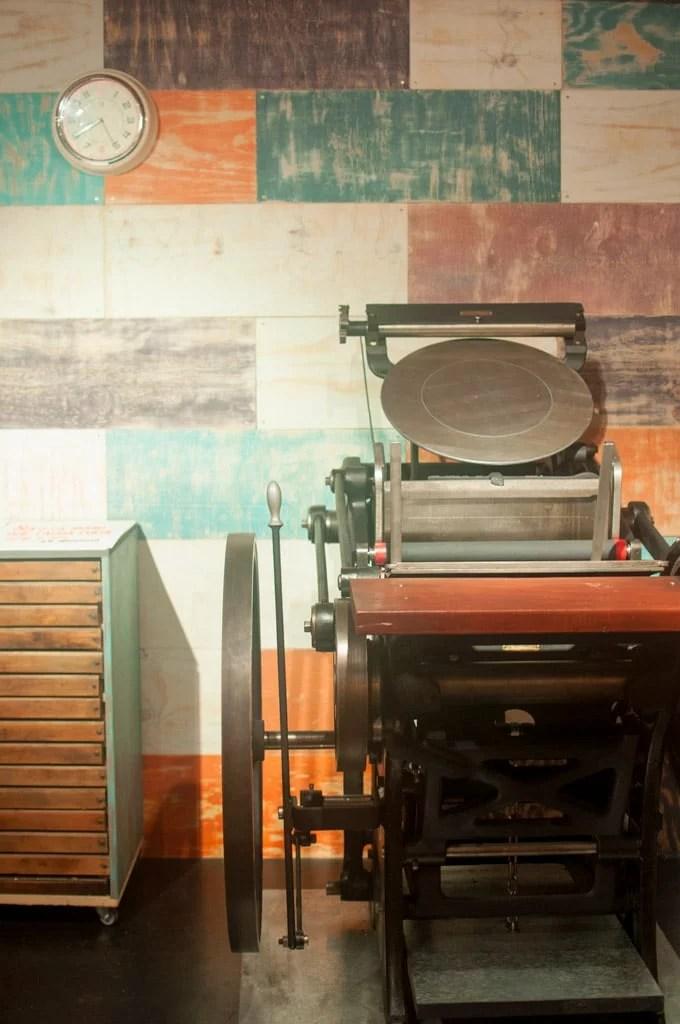 Estudio / Imprenta Tintanegra Letterpress 8