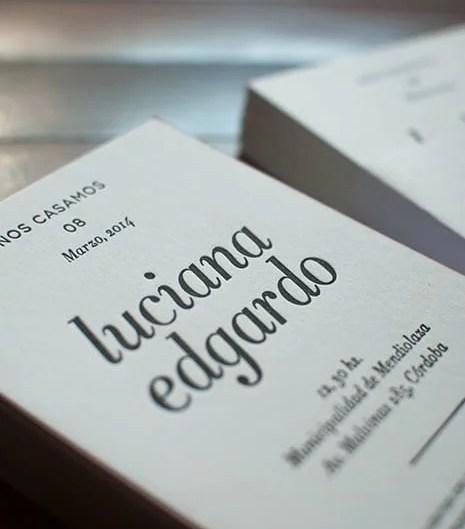 Edgardo y Luciana