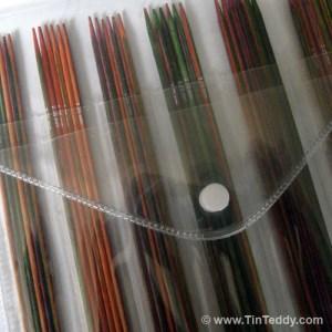 Symfonie Sock Needles - 6 sizes of sock needle included