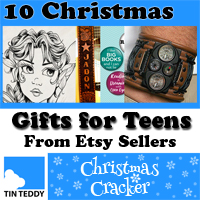 Ten Great Christmas Gifts for Teens from Etsy Sellers