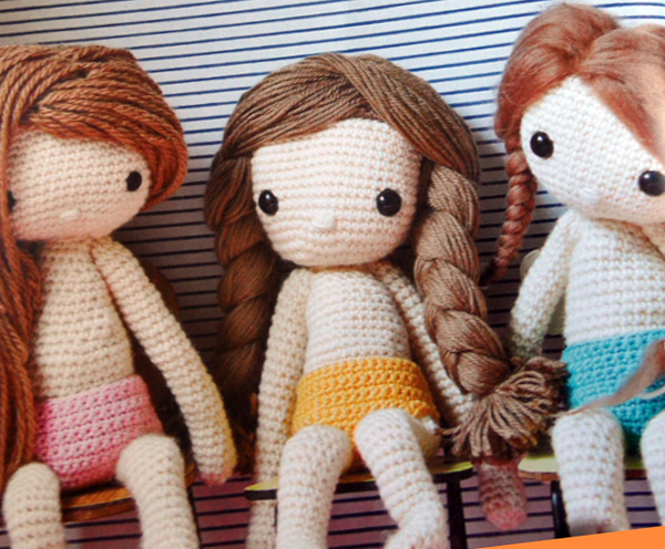 My Crochet Dolls - the dolls