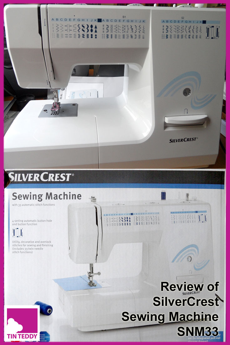 A detailed review of the SilverCrest SNM33 sewing machine from Lidl Supermarkets. #lidl #silvercrest #sewingmachine #snm33