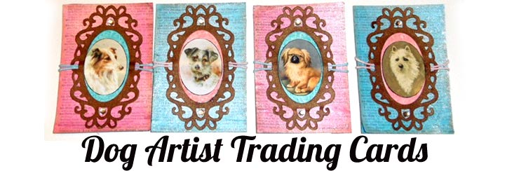 Dogs Artist Trading Cards - a mini tutorial