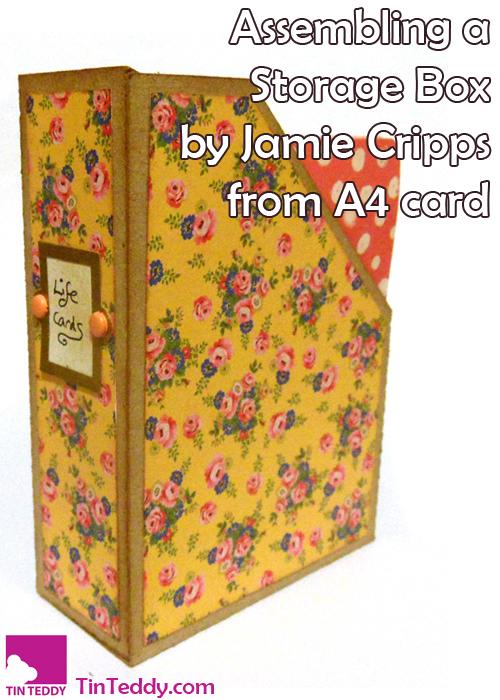 Assembling a Jamie Cripps Storage Box