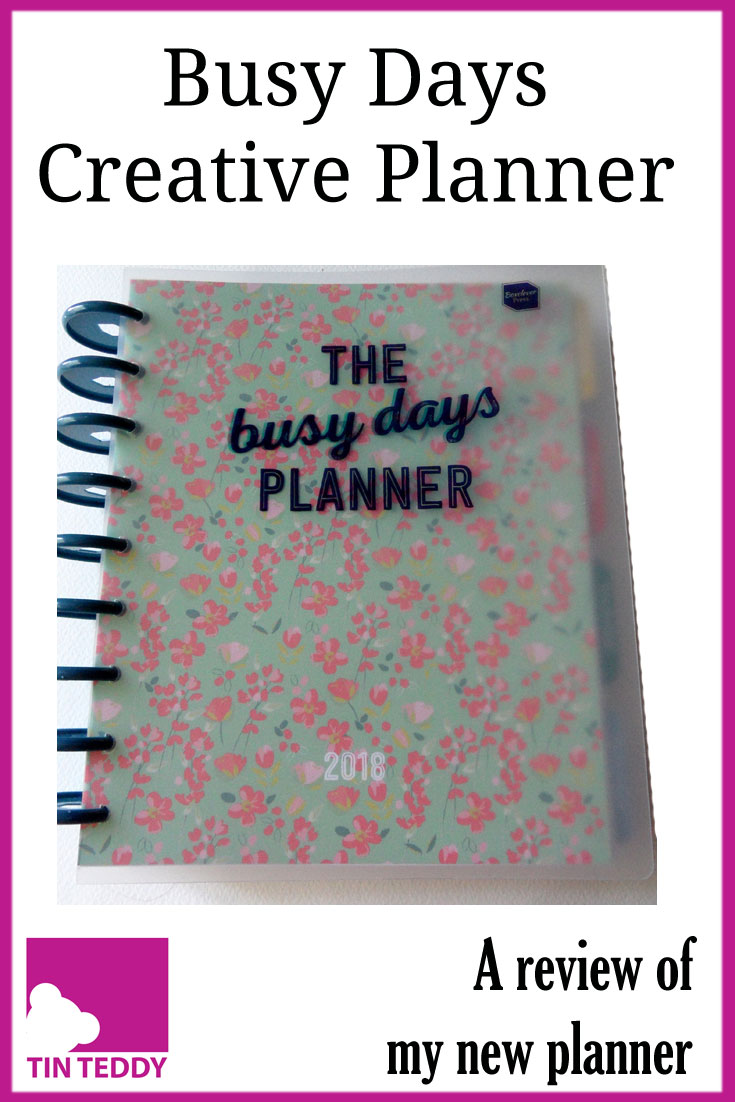 A review of my new planner - the Busy Days creative planner from Box Clever Press.  Is it better than my trusty Filofax?  #planner #journalling #busydays