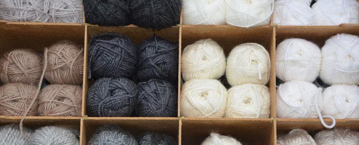 Neat Yarn Storage