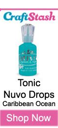 Tonic Nuvo Drops Caribbean Ocean at CraftStash.co.uk