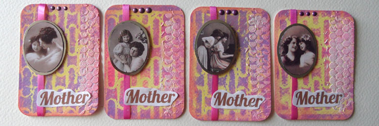 Mother's Day Artist Trading Cards