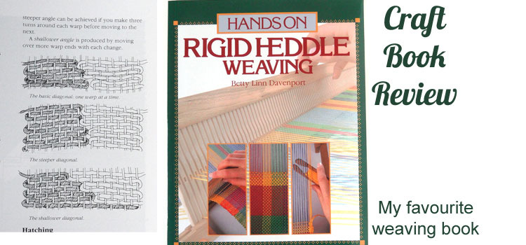 Hands on Rigid Heddle Weaving by Betty Linn Davenport - a review