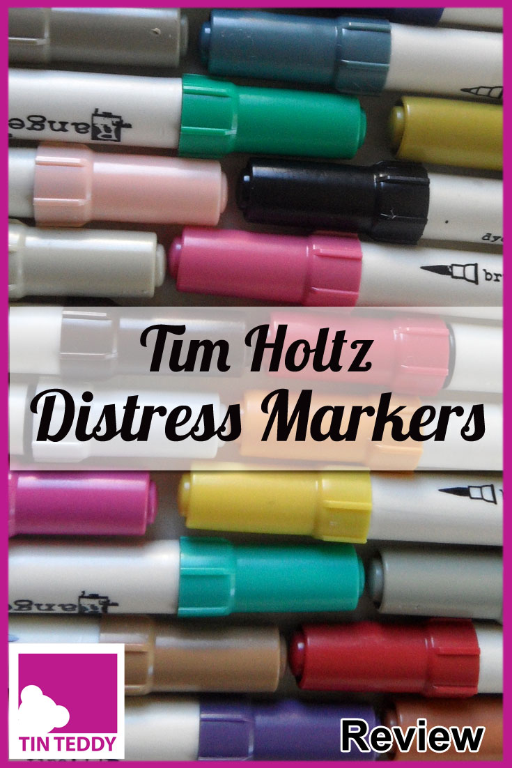 A review of the popular Distress Markers by Tim Holtz from Ranger.  These are one of my favourite art mediums as they are such good quality and so very versatile.