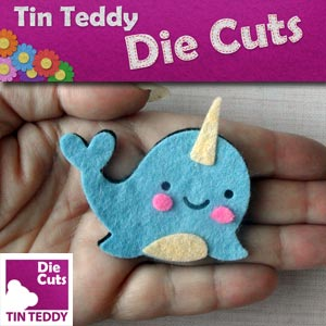 Tin Teddy Die Cuts Advert