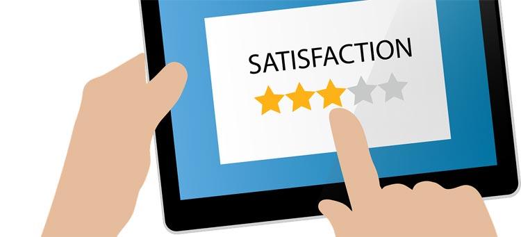 Work towards a satisfied customer