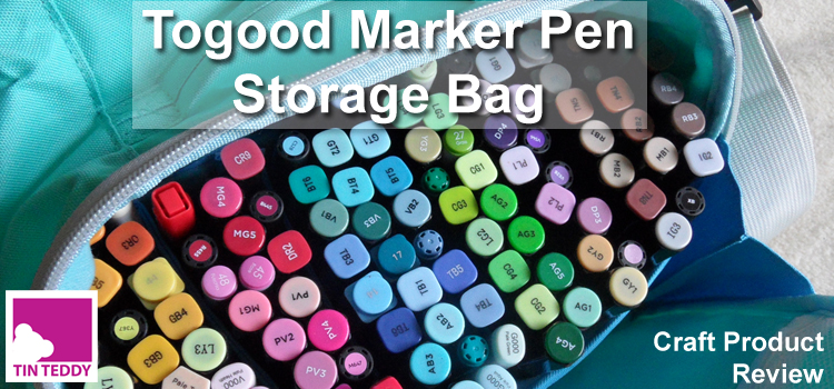 Togood Marker Pen Storage Bag - a Review