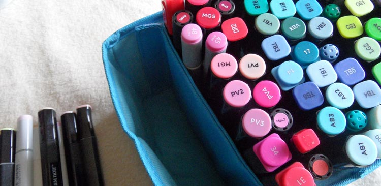 Togood Marker Storage Bag - the pen storage tray