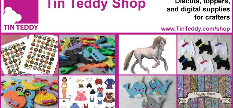 The Tin Teddy Shop – New shop now open!