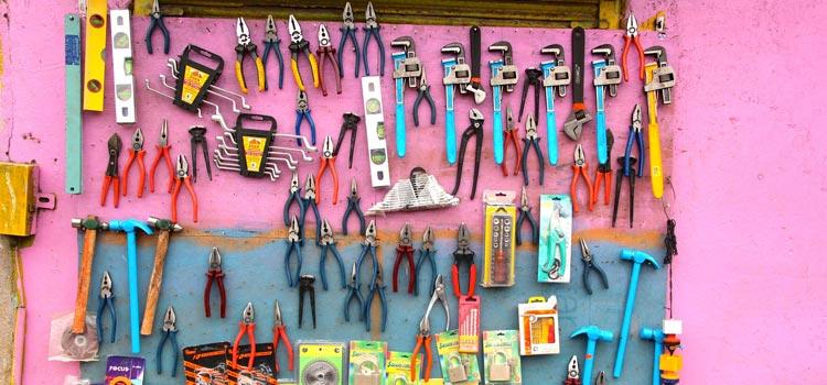 Tidy tools make work easier
