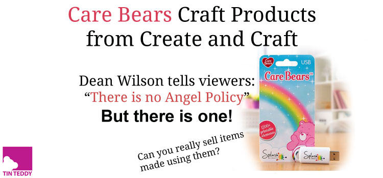 Create and Craft Care Bears Products by SplashCrafts – Can You Sell What You Make With Them?