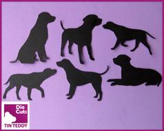 Labrador Silhouette Die Cuts