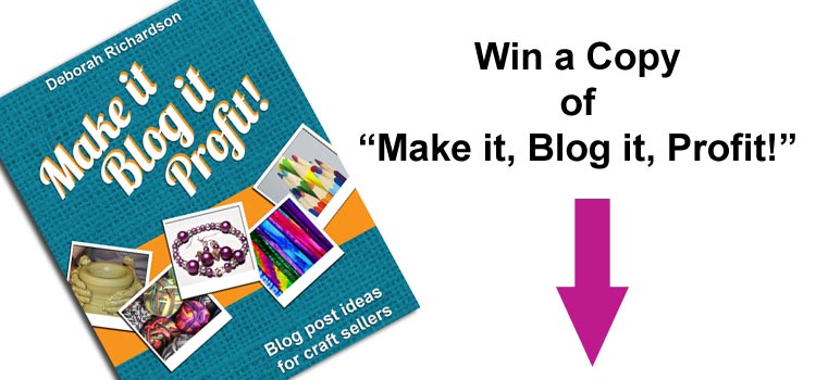 Win a physical or digital copy of Make it, Blog it, Profit!