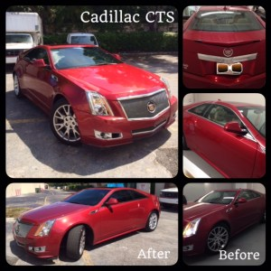 Cadillac CTS Window Tinting at Tint Magic Window Tint Coral Springs
