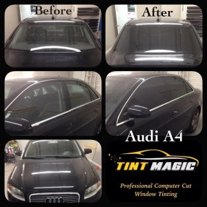 Tint Magic Coral Springs Audi A4 Window Tinting
