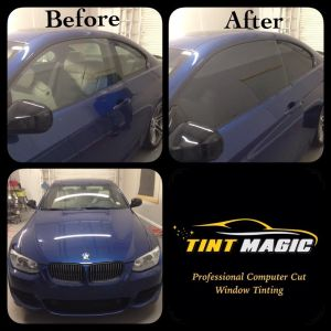 BMW window tinting at Tint Magic Coral Springs