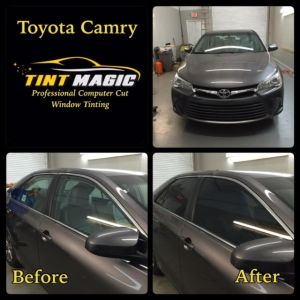 Toyota Camry at Tint Magic Window Tinting Coral Springs