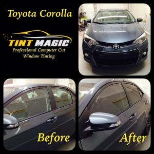 Toyota Corolla at Tint Magic Coral Springs