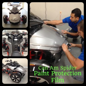 Can Am Spider Paint Protection Film at Tint Magic Window Tint Coral Springs
