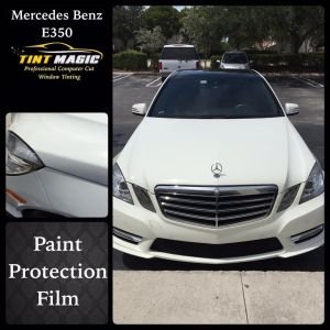 Tint Magic: Mercedes Benz E350 Paint Protection Film Parkland, Coral Springs, Tamarac, Coconut Creek, Sunriser, Weston, Margate