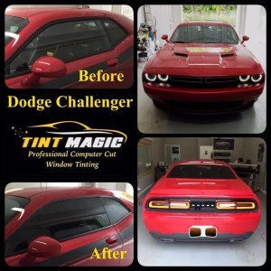 Dodge Challenger Window Tint at Tint Magic Coral Springs