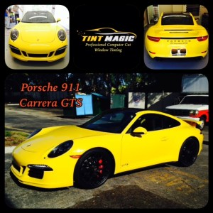 Porsche 911 Carrera GTS at Tint Magic Window Tint Images