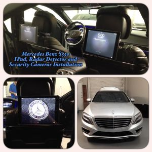 Mercedes Benz S550 at Tint Magic Window Tint Coral Springs