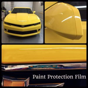 Chevrolet Camaro Paint Protection Film at Tint Magic Window Tint Coral Springs
