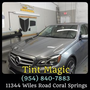 Mercedes Benz Window Tinting at Tint Magic
