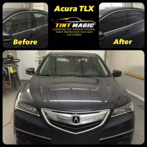 Acura TLX at Tint Magic Window Tinting Coral Springs