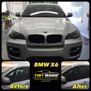 BMW X6 at Tint Magic Window Tinting Corals Springs