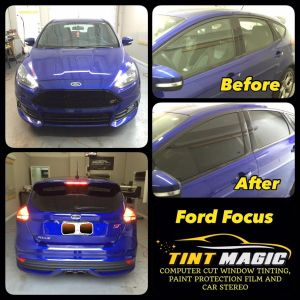 Ford Focus at Tint Magic Window Tinting