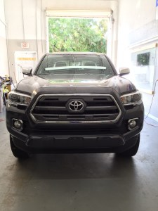 Toyota Tacoma at Tint Magic Window Tinting