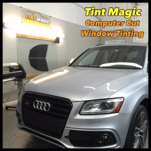 Audi SQ5 at Tint Magic Window Tinting Coral Springs