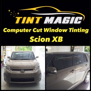 Scion XB at Tint Magic Window Tinting