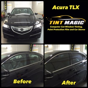 Acura TLX Tint Magic Window Tinting