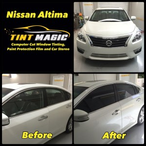 Nissan Altima at Tint Magic Window tinting Coral Springs