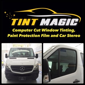 Mercedes Benz Sprinter at Tint Magic Window Tinting