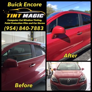 Buick Encore at Tint Magic Window Tinting