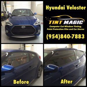 Hyundai Veloster at Tint Magic