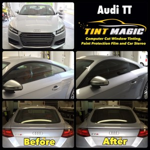 Audi TT at Tint Magic Window Tinting