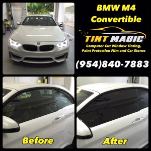 BMW M4 Convertible-Tint Magic Window Tinting